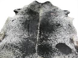 southwest rugs black u0026 white speckled cowhide rug lone star