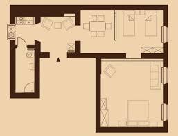 plan u0026 furnishing friends apartment sleeping in krakow
