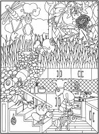 coloring pages children dover publications