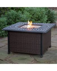 Propane Coffee Table Fire Pit by Incredible Deal On Red Ember Florentine 42 In Square Propane Fire