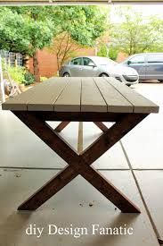Build Your Own Picnic Table Plans by Diy Design Fanatic Pottery Barn Inspired Picnic Table