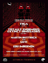 spirit halloween sf come play with us tiga live totally enormous extinct dinosaurs