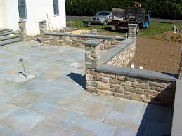 Patio Stone Pictures by Custom Walkways Patios And Retaining Walls Bucks County Area