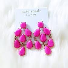 Pink Chandelier Earrings Kate Spade Jewelry New Kate Spade Pink Chandelier Earrings