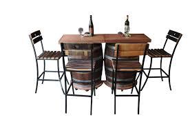 Value City Furniture Bar Stools Wine Barrel Portable Folding Bar
