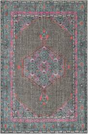 Thrift Rugs Mirabelle Rug Gray And Teal Living Spaces Glamour And Boho