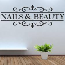 nail salon wall art clipart collection