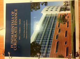 amazon com fundamentals of corporate finance custom edition for