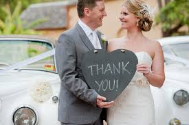 wedding thank you note wording