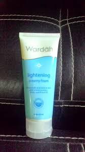 Pembersih Muka Wardah Lightening review impression wardah lightening foam filda redstar