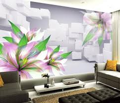 apartment cool 3d wall murals to get fresh home nuance decorative full size of cool 3d wall murals hand priting flower wallpaper high end decoration decorative living