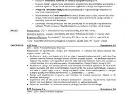 Sample Resume For Experienced Embedded Engineer Download Mobile Device Test Engineer Sample Resume
