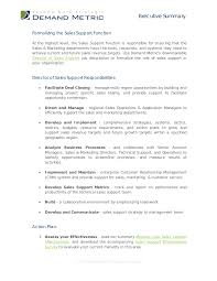 sales support job description entry level assistant recruiter or