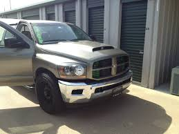 Dodge Ram Cummins Grill - 4th gen bumper on my 3rd gen what do y u0027all think i