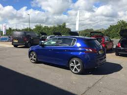 blue peugeot for sale used 2017 peugeot 308 blue hdi ss gt line 5dr for sale in ryde