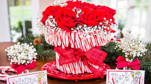 cristina ferrare u0027s diy candy cane vase youtube