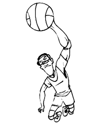 basketball coloring pages nba nba reverse jam coloring page color luna