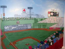 full wall fenway stadium