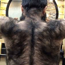 photo of the back of hair with a short bob this man s back hair transformation is going viral on instagram allure