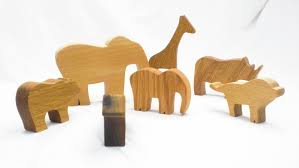 animal wood toys zoo in a bag wood zoo animal toys on storenvy