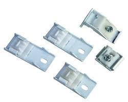 Plastic Curtain Track Brackets Ceiling Bracket Medical Rail White Plastic Ring Hospital Ceiling