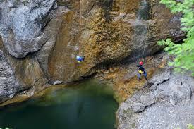 Bad Kohlgrub Wetter Canyoning Stuibenfälle Bad Kohlgrub