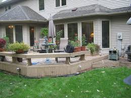 these fort wayne homeowners get new deck and patio archadeck of