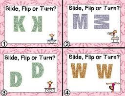 task cards slide flip turn translation reflection rotation