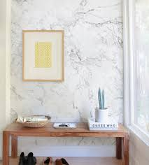 Temporary Wallpaper Tiles by Marble Wall Art Wallpaper White Peel And Stick