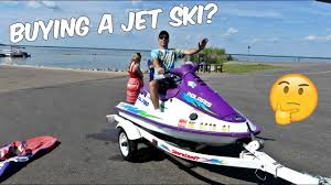 what to look for when buying a jet ski personal watercraft youtube