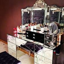 Makeup Vanity Jewelry Armoire Furniture Let It Realize Your Princess Dream With Pretty Makeup