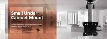 Under Cabinet Kitchen Tv Dvd Combo Small Under Cabinet Mount Monoprice Com
