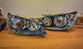 2005 lexus ls430 headlights my bixenon ls430 projector retrofit u0026adjustible ballasts redone