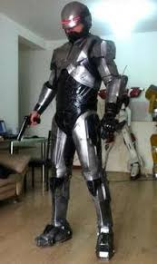 Robocop Halloween Costume Robocop Silver Armor Cosplay Props Suit Armour Boys Halloween