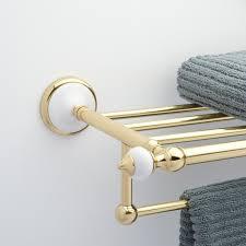 Towel Shelves For Bathroom by Adelaide Towel Rack Bathroom