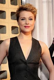 short hairstyles with height evan rachel wood fashionable short and messy hairstyle with a