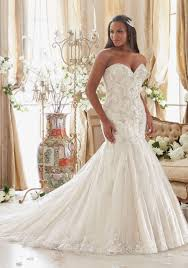 mori bridal plus size wedding dress with crystals on tulle style 3205 morilee