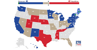 Electoral College Maps 2016 Projections Amp Predictions by 2018 House Election Interactive Map