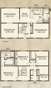 4 bedroom house plans 2 story house plans two story 4 bedrooms homes zone