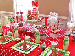 christmas decorations for dining table with inspiration ideas 1563