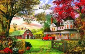 halloween fall wallpaper pumpkins tag wallpapers fall season house pumpkins trees garden