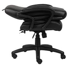 Fancy Leather Chair Amazon Com Boss Office Products B8701 High Back No Tools Required