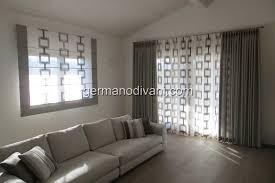 tende per soggiorno moderno gallery of tende da soggiorno con calate idee creative moderno
