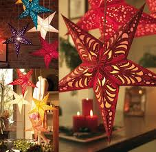 bright star lights christmas 3pcs lot free shipping sale christmas decoration 3d pentagram