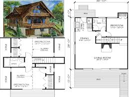ski chalet house plans one story cabin small indian mountain