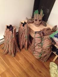 groot costume feeling overwhelmed by my groot costume taking a to