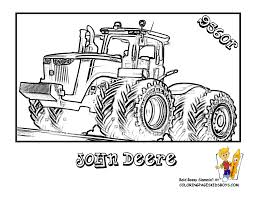 john deere coloring pages 7105
