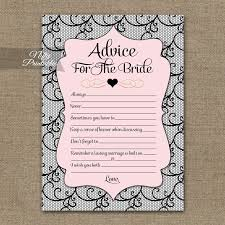 bridal advice cards bridal advice nifty printables