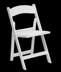 chair for rent white folding wedding chair with pad all seasons rent regard to