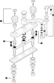 glacier bay kitchen faucet diagram glacier bay kitchen faucet repair kit ppi